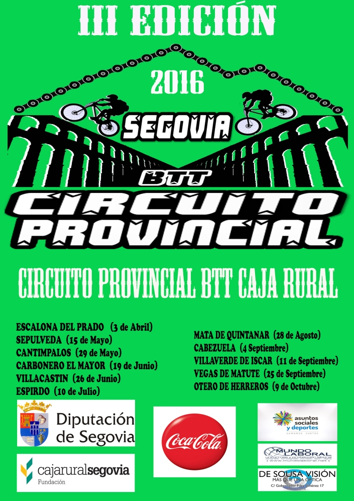 Cartel Circuito 2016